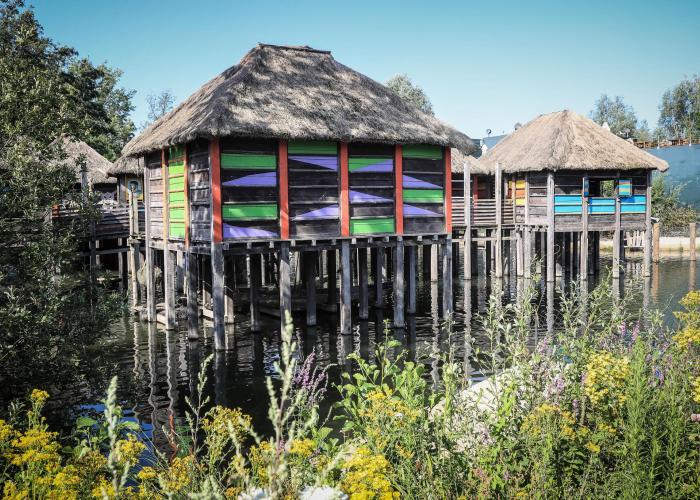 Le village lacustre africain – Pairi Daiza