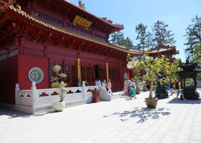 Temple Bouddhiste - Pairi Daiza