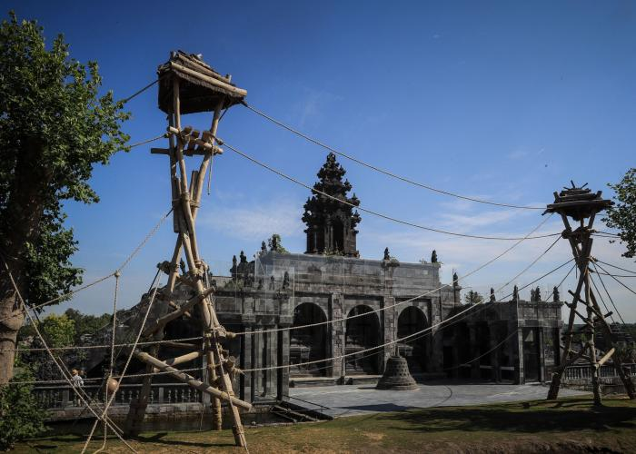 Image result for pairi daiza temple