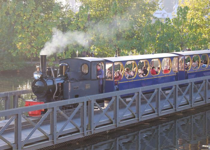 Train à Vapeur - Pairi Daiza