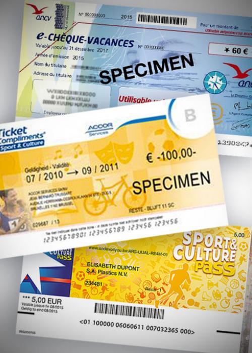 Chèques de réduction acceptés pour le paiement des entrées individuelles