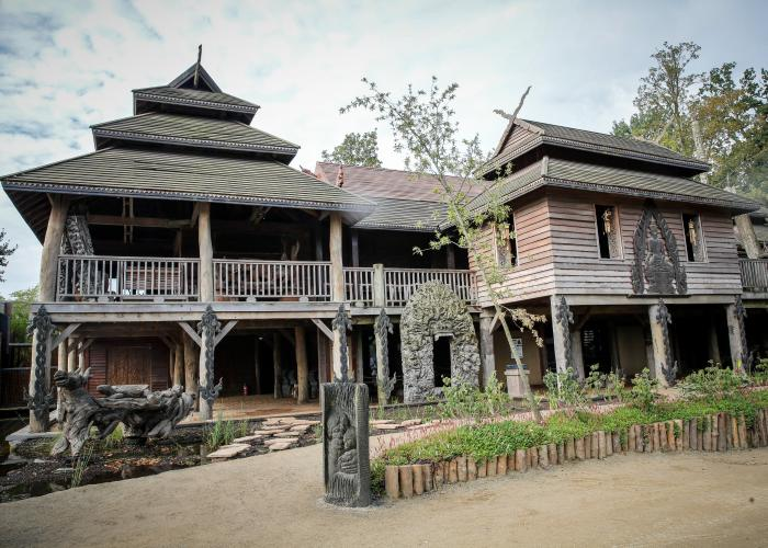 La maison de l'Artisan à Pairi Daiza